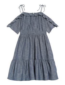 Wes Chambray Dress (Toddler Girls, Little Girls And Big Girls) by Crewcuts
