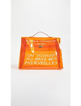 Hermes Vinyl Kelly Bag by What Goes Around Comes Around