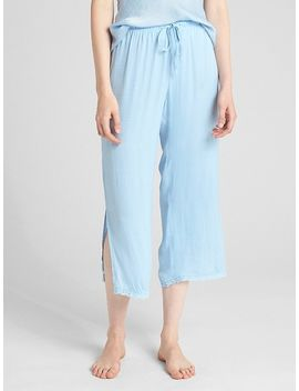 Dreamwell Satin Pants by Gap