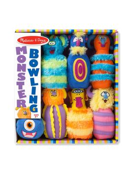 7 Piece Plush Monster Bowling Set by Melissa & Doug