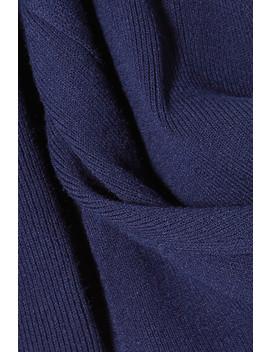 Cold Shoulder Ribbed Stretch Knit Dress by Dion Lee