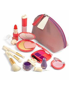 Litti Pritti Pretend Makeup For Girls   11 Piece Play Makeup Set  Realistic Toys Makeup Set For Girls by Litti Pritti