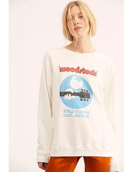 Woodstock   3 Days Of Peace Sweatshirt by Free People