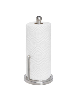 Honey Can Do Stainless Steel Paper Towel Holder, Silver by Honey Can Do