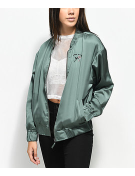 Empyre Rose Forever Anouk Olive Jacket by Empyre