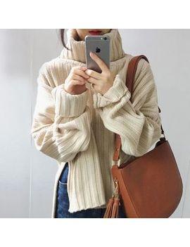 Kaylis   Turtleneck Sweater by Kaylis
