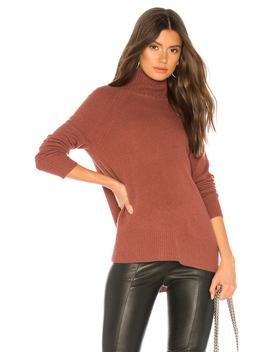 Raglan Standneck Sweater by White + Warren