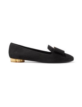 Sarno Suede Loafers by Salvatore Ferragamo