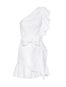 Teller One Shoulder Linen Dress by Isabel Marant, Étoile