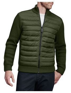 Men's Hybridge Knit Zip Front Jacket by Canada Goose