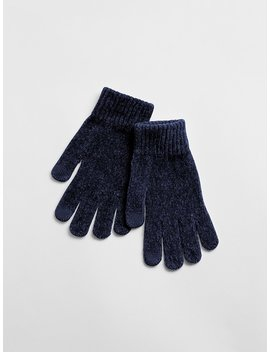 Chenille Smartphone Gloves by Gap