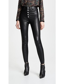 Mikah Leather Pants by Alice + Olivia