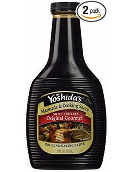 Mr. Yoshida's, Original Gourmet Sauce, 17oz Bottle (Pack Of 2) by Mr. Yoshida's