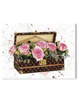 Oliver Gal 'doll Memories   Trunk Of Roses' Graphic Art Print On Canvas & Reviews by Oliver Gal