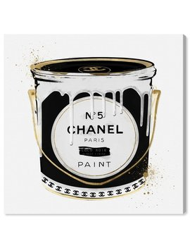 Oliver Gal Fashion Paint Noir Fashion Art' Wrapped Canvas Print & Reviews by Oliver Gal