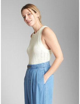 Textured Tank Top Sweater by Gap