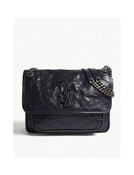 Niki Leather Shoulder Bag by Saint Laurent