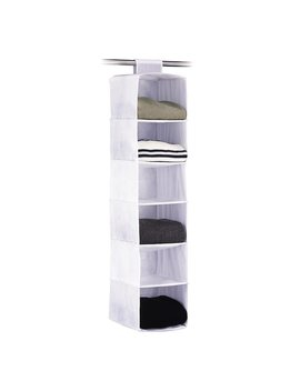 Oia Zephyr 6 Compartment Hanging Organizer & Reviews by Organize It All