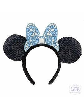 Disneyland 60th Anniversary Diamond Celebration Jeweled Minnie Mouse Ears Headband by Disney