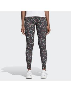 Floral Tights by Adidas