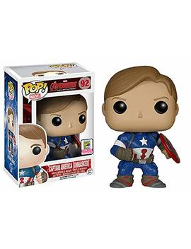 Unmasked Captain America Funko Po P! 2015 Convention Exclusive by Fun Ko