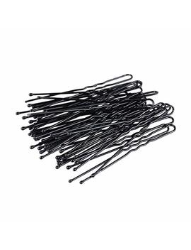 200 Pcs Professional Black Bobby Pins U Shape Hair Pins For Women Girls And Hairdressing Salon(2.4 Inches) by Icyang