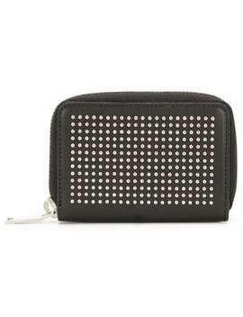 Studded Zipped Wallet by Saint Laurent