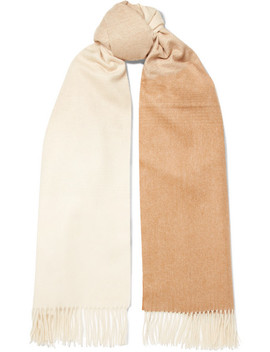 Ombré Cashmere Scarf by Johnstons Of Elgin