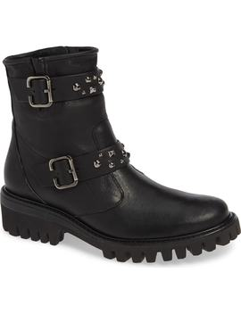 Veronia Studded Buckle Boot by Paul Green