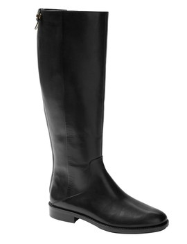 Riding Boot With Full Zip by Banana Repbulic