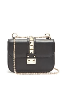 Lock Small Leather Shoulder Bag by Matches Fashion