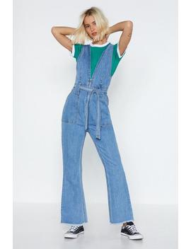 Sleeveless Denim Jumpsuit by Nasty Gal