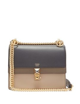 Kan I Stripe Small Leather Cross Body Bag by Matches Fashion