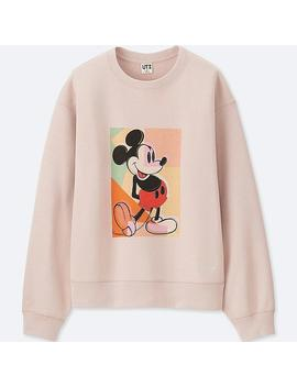 Sweat Shirt Mickey Art Manches Longues Femme by Uniqlo