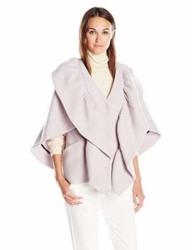 Milly Women's Ruffle Cape Jacket by Milly