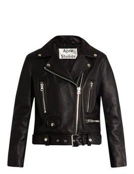 Mock Leather Biker Jacket by Matches Fashion