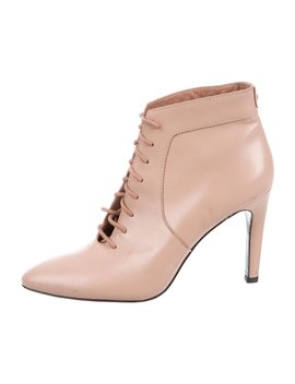 Mirzam Leather Ankle Boots by Opening Ceremony