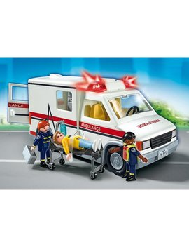 Playmobil Rescue Ambulance by Playmobil