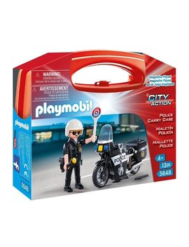 Playmobil Police Carry Case by Playmobil