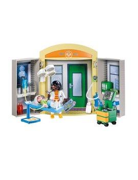Playmobil Hospital Play Box by Playmobil