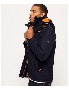 Pop Zip Hooded Arctic Sd Windcheater Jac by Superdry