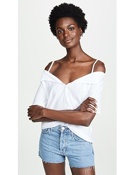 Harlow Off The Shoulder Henley by Nation Ltd