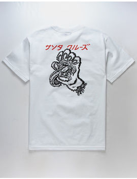 Santa Cruz Screaming Paw Mens T Shirt by Santa Cruz