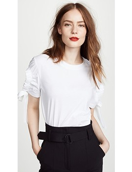 Cutout Sleeve Tee by Victoria Victoria Beckham