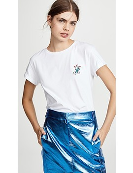 Lovestruck Smurf T Shirt by Anya Hindmarch