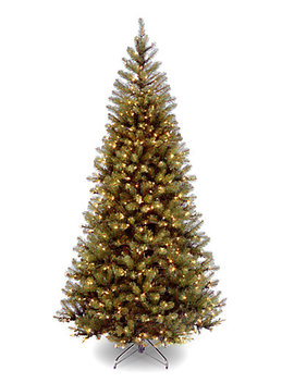 National Tree 7.5ft Aspen Spruce Tree With Clear Lights by National Tree