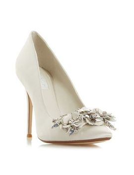 Dune   Ivory 'brydee' High Stiletto Heel Court Shoes by Dune