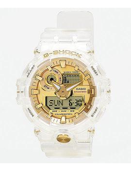 G Shock Ga735 Skeleton & Gold Watch by Casio America Inc