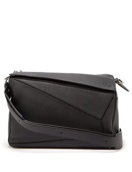 Puzzle Xl Grained Leather Bag by Loewe