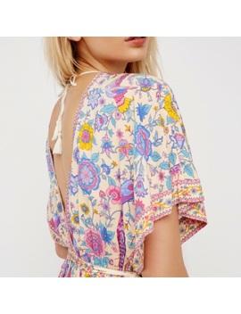 🎉Hp🎉 Lovebird Half Moon Gown Maxi Dress FloralBoutique by Austin Gal